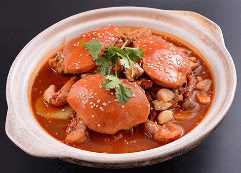 食为先肉蟹煲培训
