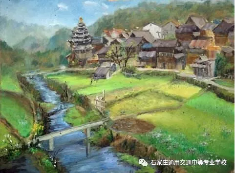 石家庄通用交通学校美术绘画专科专业