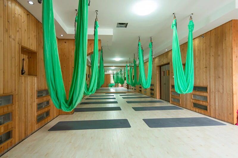 沈阳威思丽空中瑜伽教练训练营