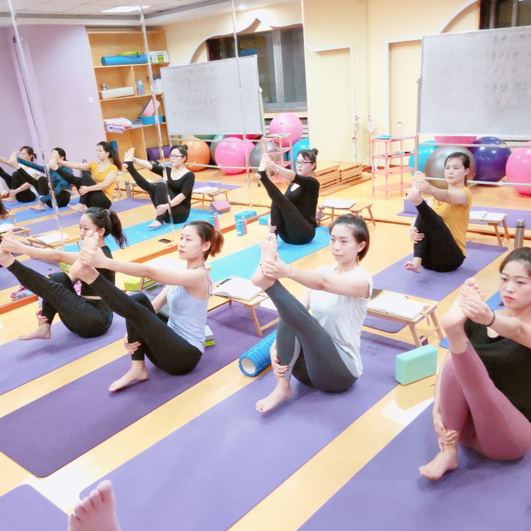 沈阳威思丽哈他瑜伽教练培训班正在火热招生中