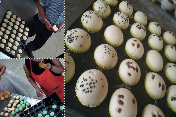 廣東蒸蛋糕培訓學校地址經驗傳達學制作工藝