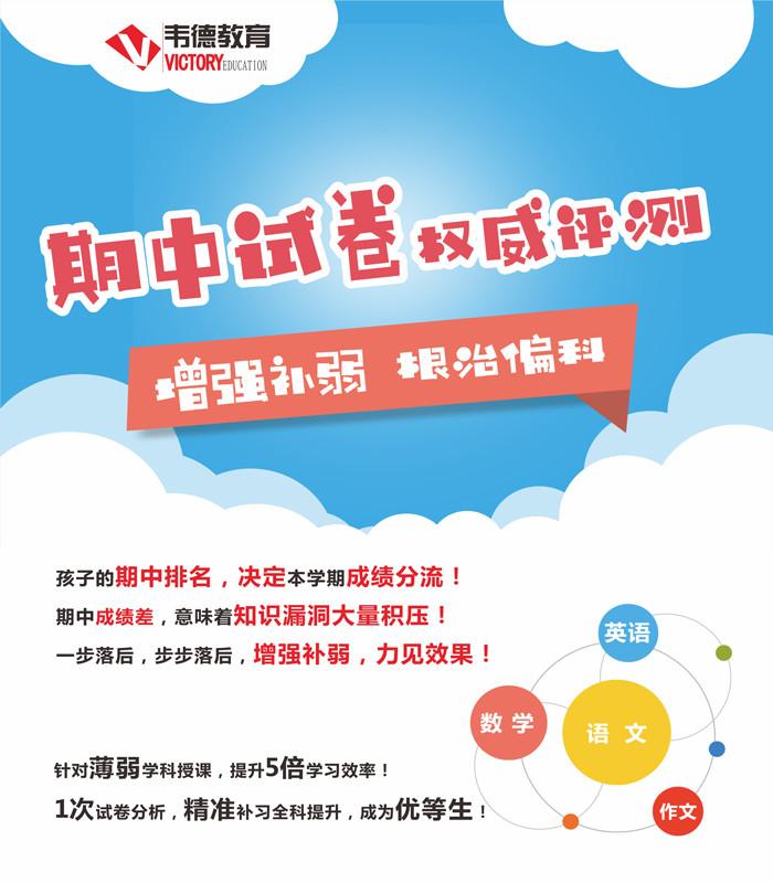 沈阳韦德教育初中文化课全科线上课程