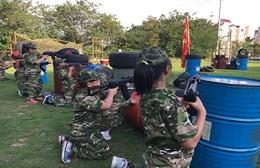 苏州方阵户外拓展少儿军事训练营