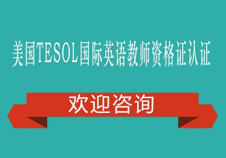 美国TESOL国际英语教师资格证认证高级项目