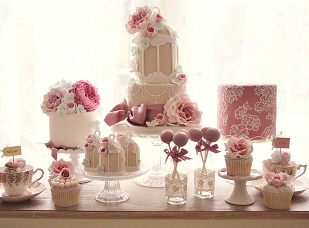 蓝馨烘焙坊专业甜品、蛋糕、翻糖培训
