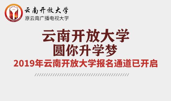 云南开放大学网络教育报名网